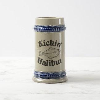 Kicking Halibut Beer Stein