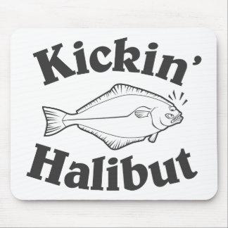 Kicking Halibut Mouse Pad
