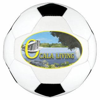 Kicking it in Ocala Soccer Ball