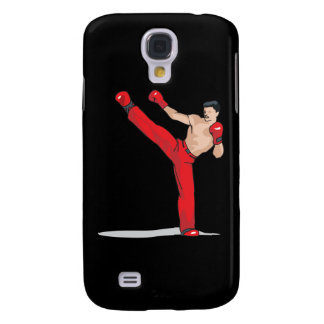 kicking kickboxer kickboxing graphic samsung galaxy s4 cover