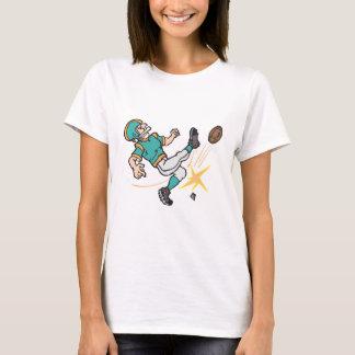 kicking off football player T-Shirt