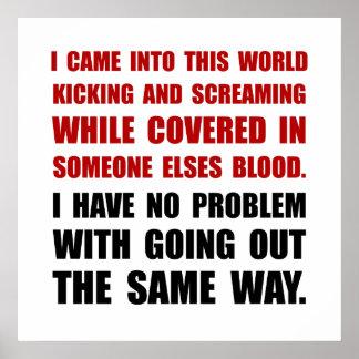 Kicking Screaming Poster