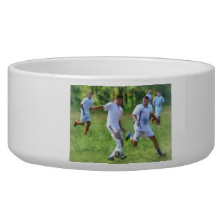 Kicking Soccer Ball Pet Bowls