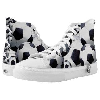 Kicking Soccer Printed Shoes
