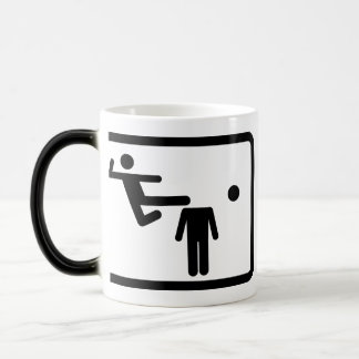 Kicking The Head Off The Neck Magic Mug