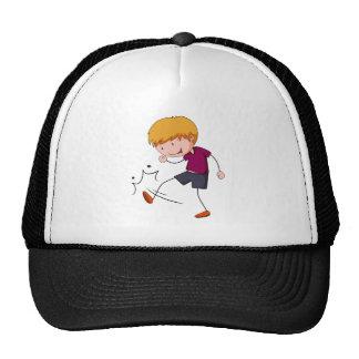 Kicking Trucker Hat