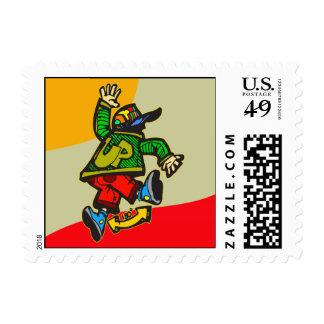 Kicking Up Your Heels Stamp