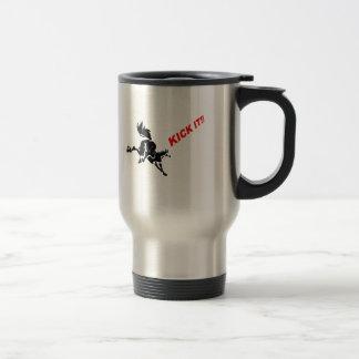 KICKIT! mug_AKHALTEKE_Horse 15 Oz Stainless Steel Travel Mug