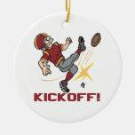 Kickoff Christmas Ornaments