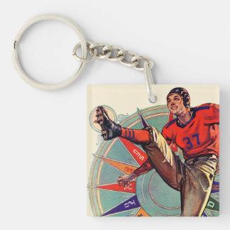Kickoff Keychain