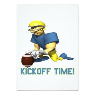 Kickoff Time Card