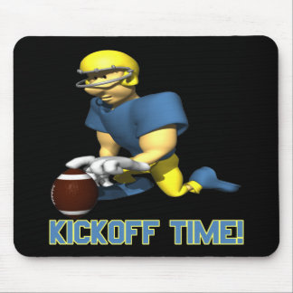 Kickoff Time Mouse Pad