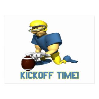 Kickoff Time Postcard
