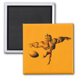 Kickoff to Halloween Night League 2 Inch Square Magnet