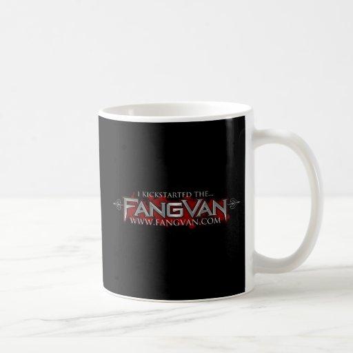"""""""Kickstarted funcionario del FangVan"""" Taza"""