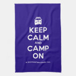 [Campervan] keep calm and camp on  Kicthen Towels