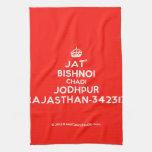 [Crown] jat' bishnoi chadi jodhpur rajasthan-342312  Kicthen Towels