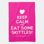 [Love heart] keep calm and eat some skittles!  Kicthen Towels