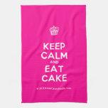 [Cupcake] keep calm and eat cake  Kicthen Towels
