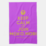 [Smile] keep calm and join moko.mobi  Kicthen Towels