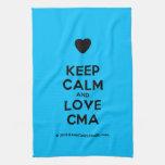 [Love heart] keep calm and love cma  Kicthen Towels