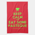 [Chef hat] keep calm and eat some pasteque  Kicthen Towels