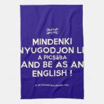 [UK Flag] mindenki nyugodjon le a picsába and be as an english !  Kicthen Towels