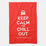 [Campervan] keep calm and chill out  Kicthen Towels