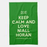 [UK Flag] keep calm and love niall horan  Kicthen Towels