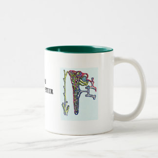 kid08, kid08b, SFGH Renal Center Two-Tone Coffee Mug