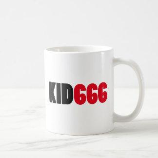 KID666 logo Classic White Coffee Mug