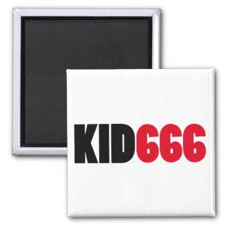 KID666 logo Refrigerator Magnets