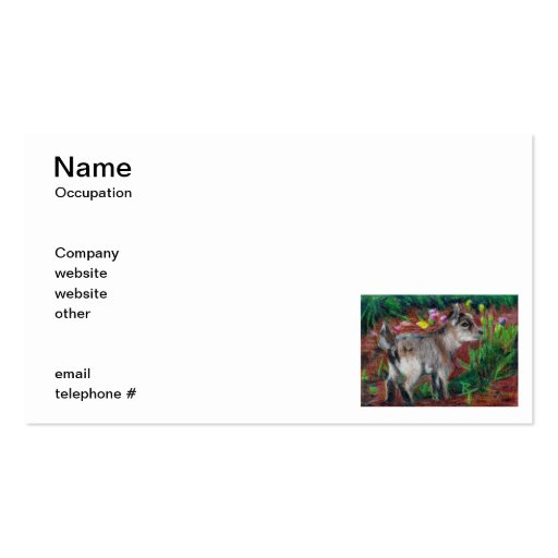 Kid aceo Business Cards