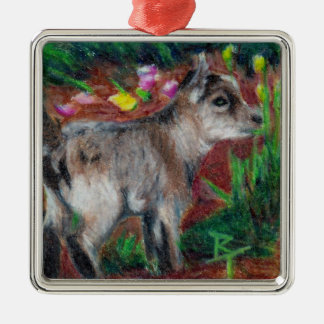 Kid aceo metal ornament
