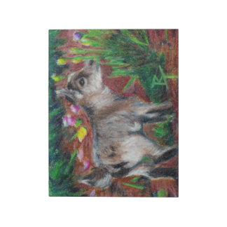 Kid aceo note pad