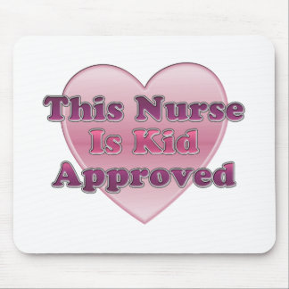 Kid Approved Nurse Mouse Pad