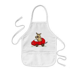 """kid apron """"funny bunny"""" cartoon"""