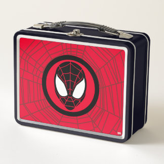 Kid Arachnid Icon Metal Lunch Box