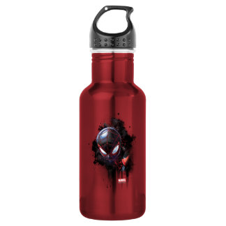 Kid Arachnid Ink Splatter Stainless Steel Water Bottle