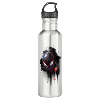 Kid Arachnid Ink Splatter Water Bottle
