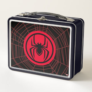 Kid Arachnid Logo Metal Lunch Box