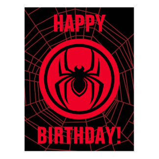 Kid Arachnid Logo Postcard