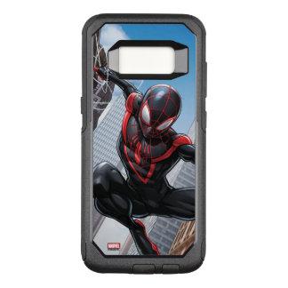 Kid Arachnid Web Slinging Through City OtterBox Commuter Samsung Galaxy S8 Case