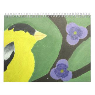 Kid Art Calendar