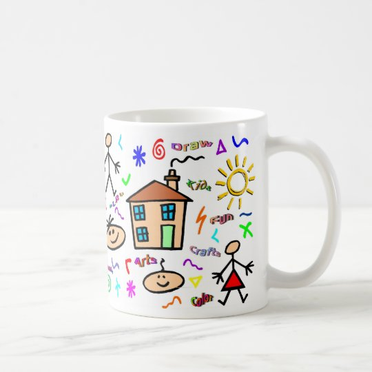 Kid Art Coffee Mug