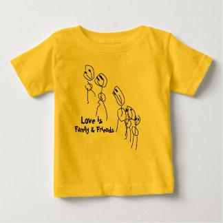 Kid Art - Family & Friends Baby T-Shirt