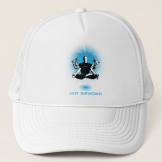 kid beyond logo hat