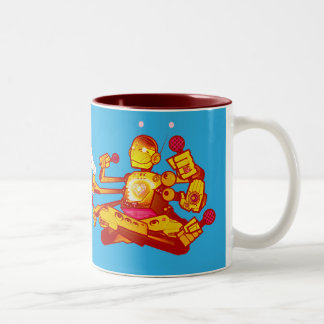 Kid Beyond Robot Mug