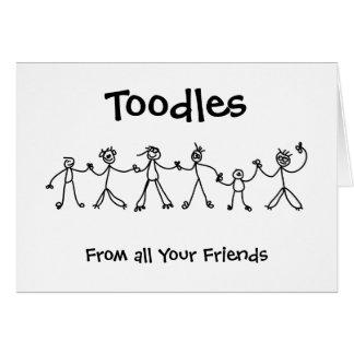 Kid Chain Toodles Card