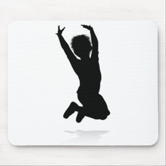 Kid Child Silhouette Mouse Pad